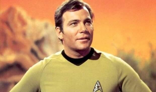 Сыгравший в «Звездном пути» Уильям Шетнер полетит в космос на корабле Джеффа Безоса