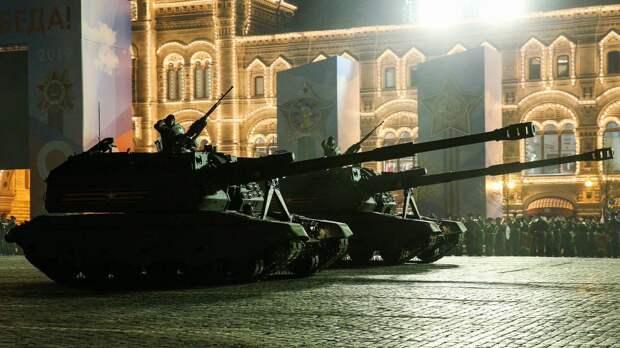 Названы даты ночных репетиций парада Победы в Москве