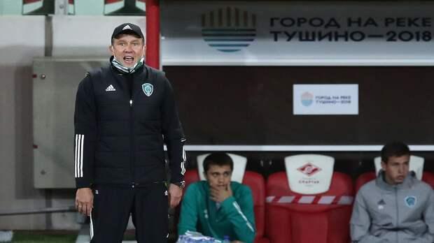 Талалаев — о разгроме «Краснодара»: «Никакого секрета нет. Раньше не реализовывали моменты, сегодня получалось»