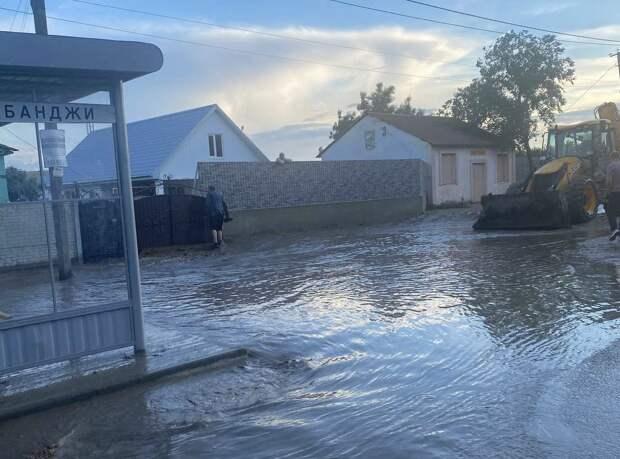 Посёлок Приозёрное Ленинского района снова затопило, эвакуировали 40 человек