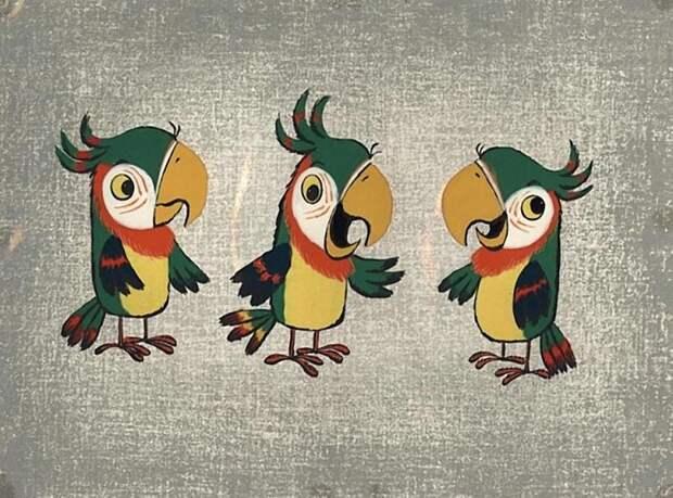 Как выглядели рабочие эскизы к советским мультфильмам Мультипликация, Союзмультфильм, эскиз, СССР, длиннопост