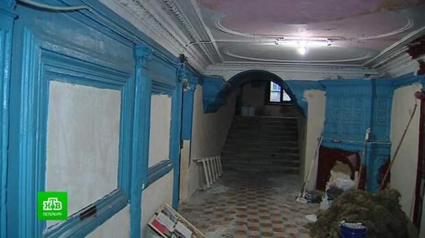 В Петербурге обеспокоились ремонтом в доме на Фонтанке, где жил Пушкин