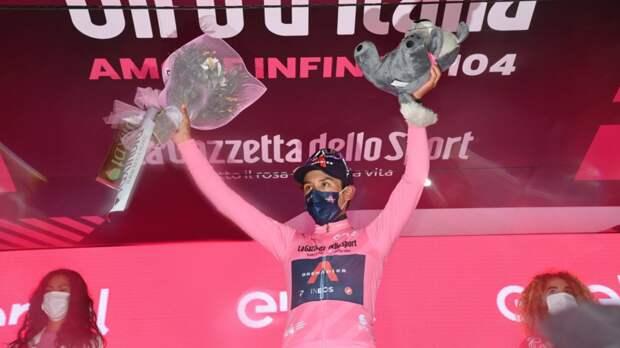 Берналь победил на девятом этапе «Джиро д'Италия», Власов — третий