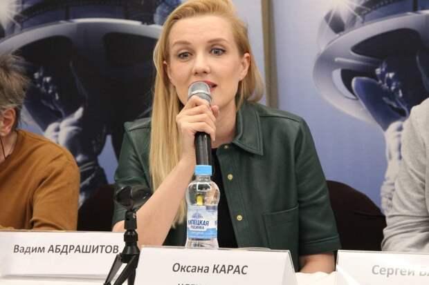 Мужчин я не строю: Оксана Карас рассказала о сложностях в работе женщины-режиссера