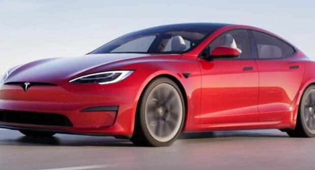 Обнародован ролик заезда Tesla Model S Plaid против Porsche Taycan Turbo S на 402 метра