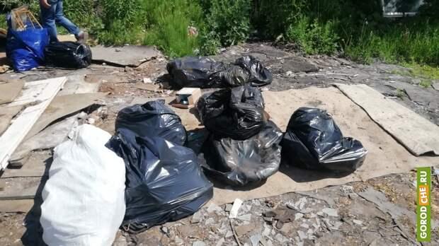 В Череповце произошел новый конфликт из-за мусора в ГСК