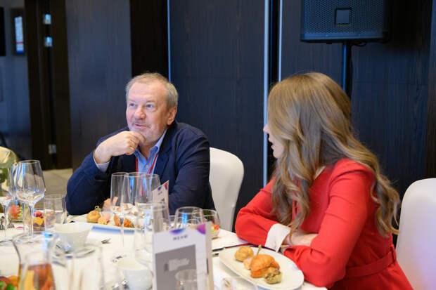 Андрей Быстрицкий принял участие в бизнес-завтраке Forbes