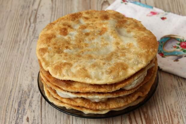 Лепешки на все случаи жизни или когда дома не осталось хлеба…Легко и просто!