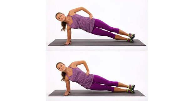 Красивый пресс: 5 эффективных упражнений от американского фитнес-тренера