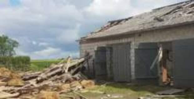 Смерч повредил более сотни зданий в Польше