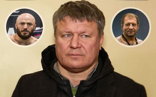 «Если мозгов нет, то потом не появится». Тактаров резко высказался об Емельяненко и Исмаилове перед их боем