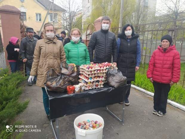 Благотворительная акция в рамках социального проекта ´Рука помощи´.
