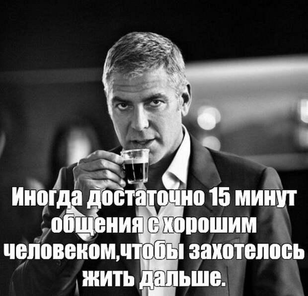 Джордж Клуни: шутки, мемы и знаменитые цитаты актера