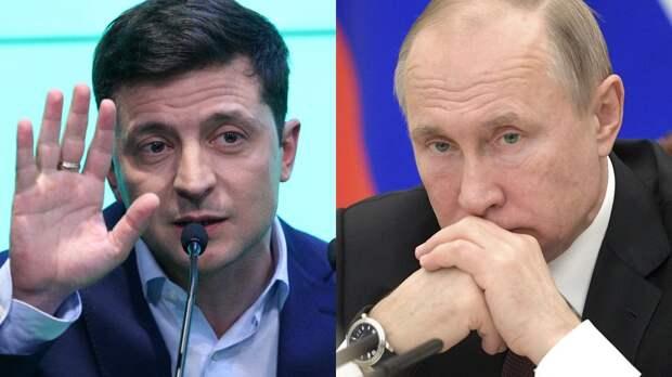 Зеленский боится встречи с Путиным, считают в Верховной раде