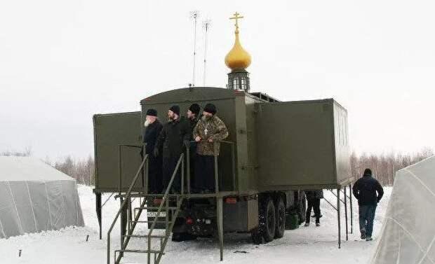 Священники ВДВ пройдут курс обучения по применению десантируемого православного храма