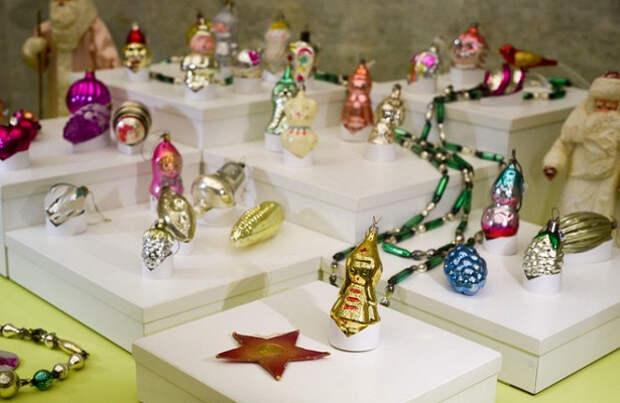 Советские елочные игрушки подорожали в 10 раз