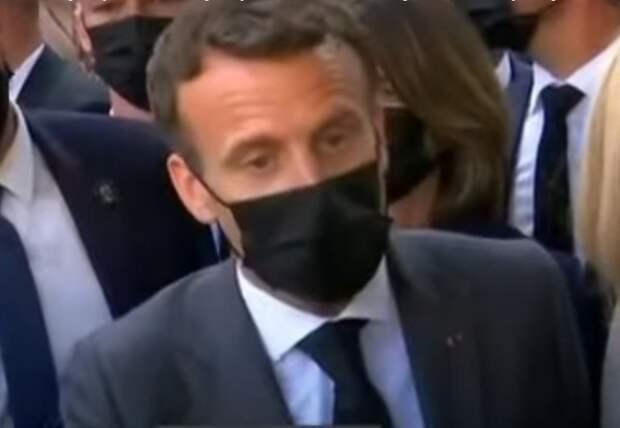 Стало известно, во что во Франции обходится пощечина президенту