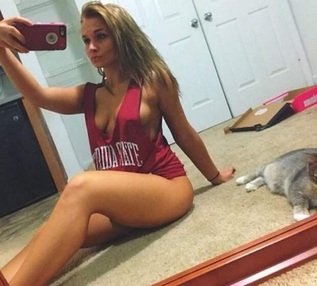 Соблазнительные фотографии в стиле sideboob (24 фото)