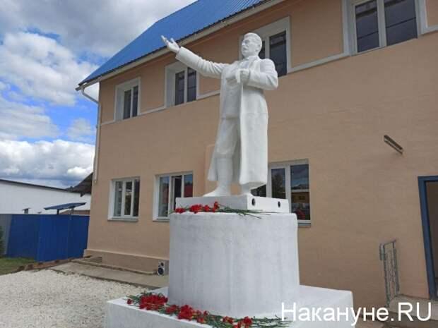 В Челябинской области открыли памятник Сталину