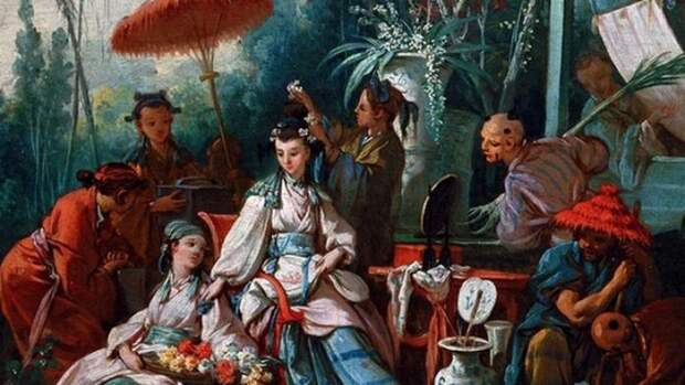 Надкусанные персики Китая (BL)