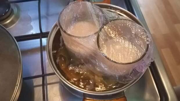 Диетическая колбаса в стакане