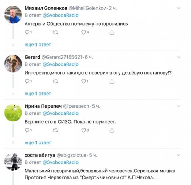 Павел Устинов разочаровал либералов: теперь они хотят, чтобы его посадили