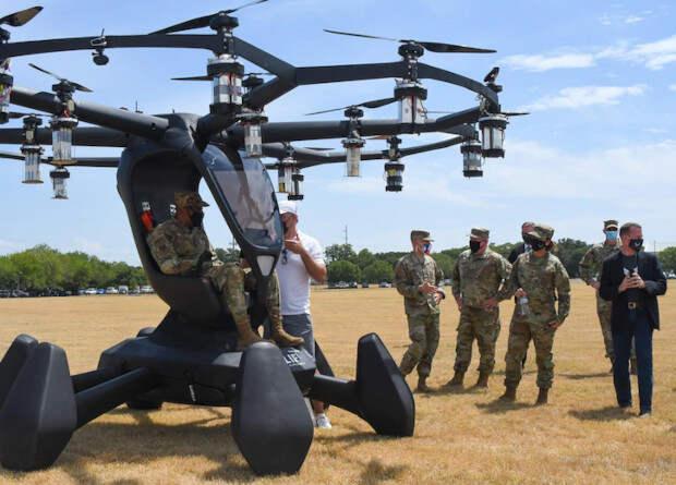 ВВС США начали испытания по программе заимствования технологий аэротакси