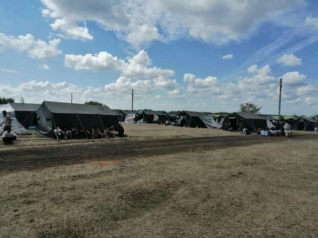 Более 4 тыс граждан Узбекистана остановились в палаточном лагере в Самарской области