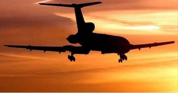 Командир Ту-154 пытался посадить самолёт на воду
