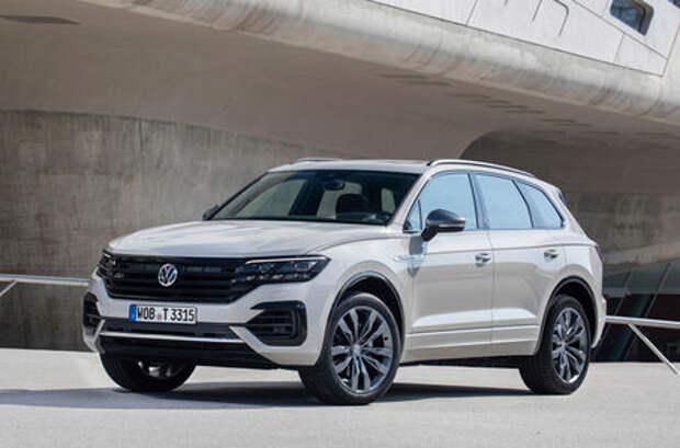 Новая версия Volkswagen Touareg - ONE Million