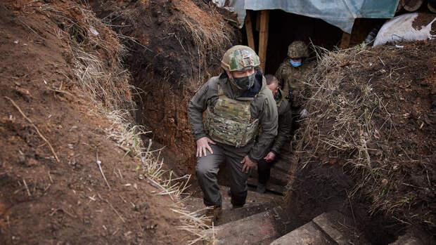 """В Кремле назвали """"печальной"""" идею Зеленского отгородить Украину от Донбасса"""