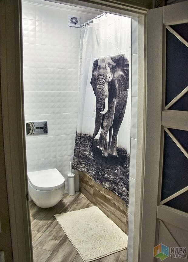 Ванная со слоном