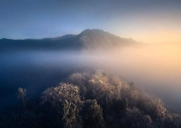 Неземные пейзажи планеты Земля на снимках из путешествий Филиппа Хребенда