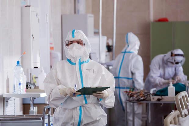 В России за сутки выявлено 19 238 новых случаев коронавируса