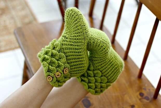 Детские носки для дракончика вязание, новый год, подарки