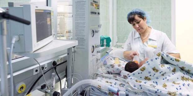Роддом при больнице Вересаева получил статус «Открытый роддом»