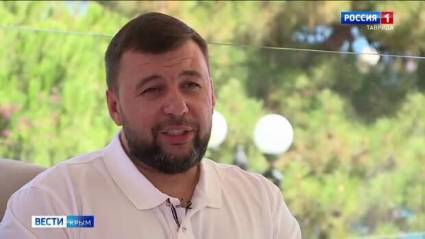 Крым популярен у туристов из ДНР — Пушилин