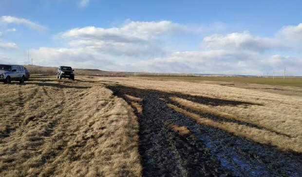 С виновника разлива нефти в Новосергиевском районе взыскали штраф
