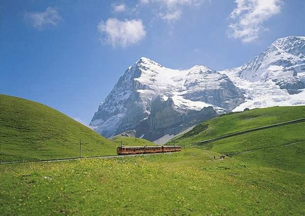 Chbahns26 Топ 5 самых необычных железных дорог Швейцарии