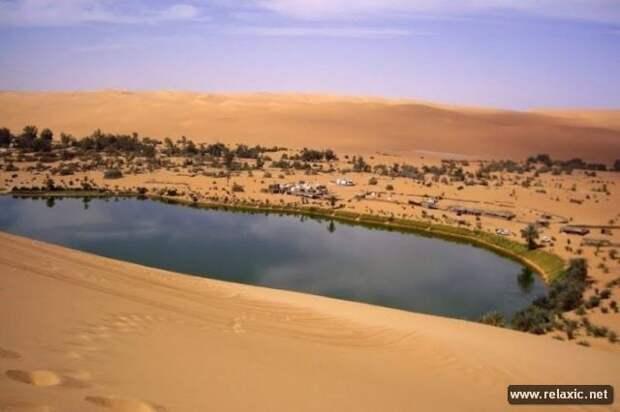 Оазис, в котором не попьешь воды (10 фото)