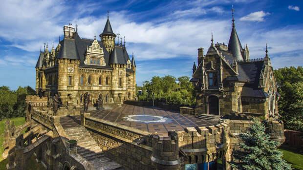 Еще одна современная стилизация под средневековый замок. /Фото: fmkorea.com