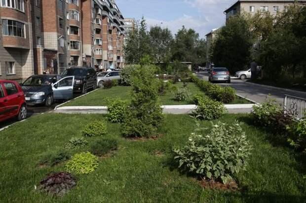 В Новосибирске запланировали отремонтировать 140 дворов