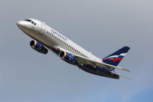 Sukhoi Superjet 100-95B авиакомпании Aeroflot