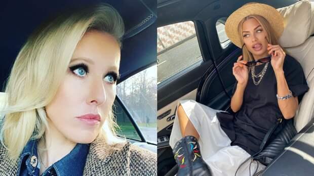 Ксения Собчак обидела Викторию Боню своей пародией в TikTok