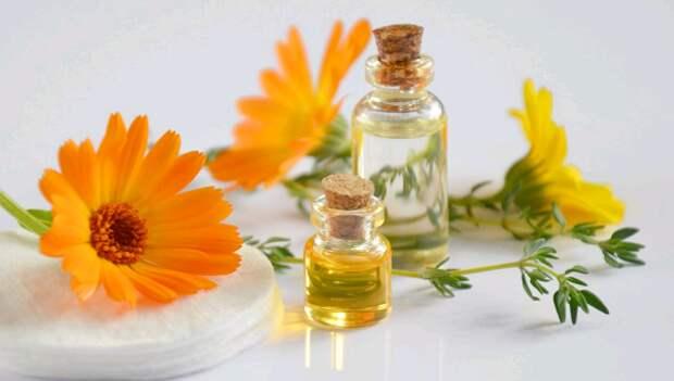 Целебные свойства масла календулы