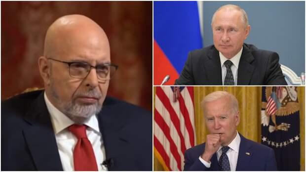 Саймс рассказал, как военные маневры России заставили Байдена обратиться к Путину
