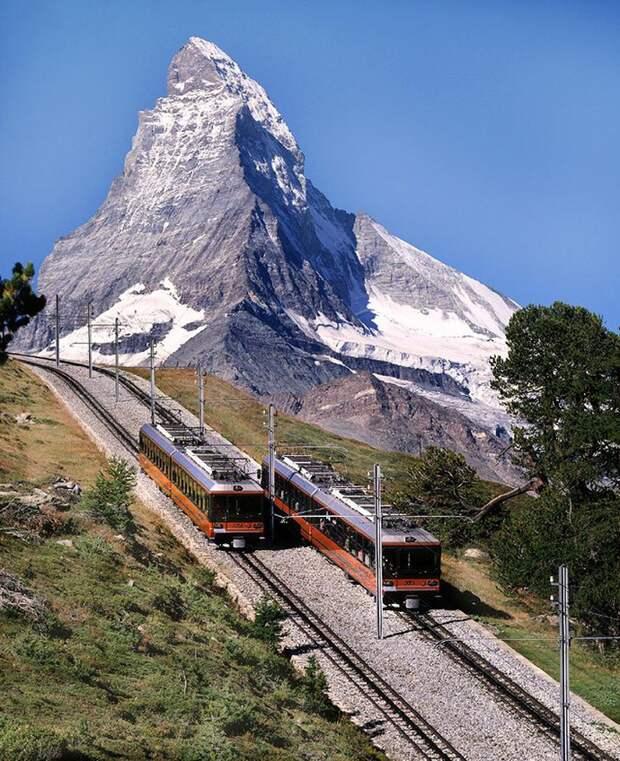 Chbahns35 Топ 5 самых необычных железных дорог Швейцарии