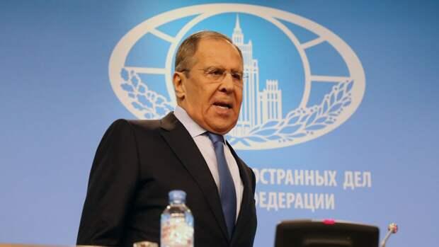Лавров констатировал отдаление Европы от России