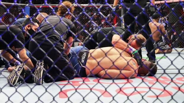 Вайдман поднялся в рейтинге UFC, хотя проиграл последний бой из-за перелома ноги