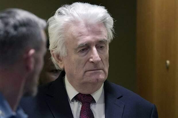 Радован Караджич будет отбывать пожизненный срок в британской тюрьме